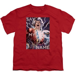 JLA/Say My Name Short Sleeve Youth 18/1 in Red