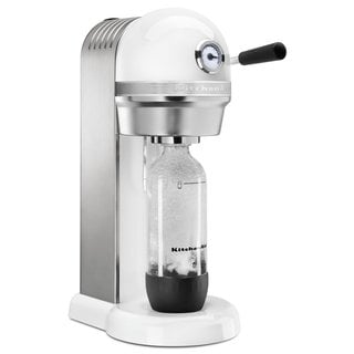 KitchenAid KSS1121WH White Metal Sparkling Beverage Maker