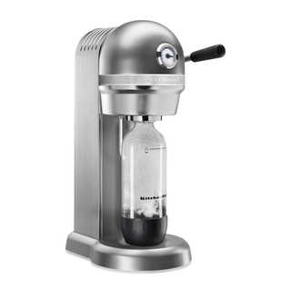 KitchenAid KSS1121CU Contour Silver Metal Sparkling Beverage Maker