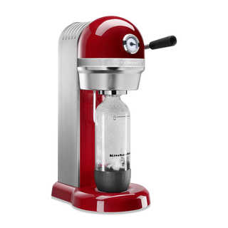 KitchenAid KSS1121ER Empire Red Metal Sparkling Beverage Maker