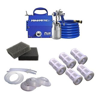 Fuji Mini-Mite 3 T70 HVLP Spray System + Accessory Kit