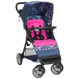 Cosco Multicolored Fabric Simple-fold Stroller