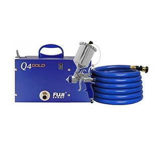Fuji 2894-T75G Q4 Quiet HVLP Spray System with Free Hat Included