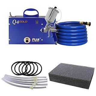 Fuji Q4 HVLP Spray System with Fuji 600CC Gravity Cup Kit and Fuji Q-PRO