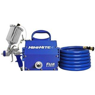 Fuji 2804-T75G Mini-Mite 4 Gravity HVLP Spray System w/ Assorted Hat