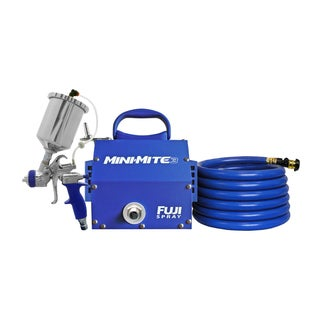Fuji 2803-T75G Mini-Mite 3 - T75G Gravity HVLP Spray System with Free Hat Includ