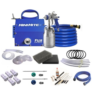 Fuji Mini-Mite 4 - T70 HVLP Spray System with Turbine Filters & Accessory Bundle