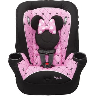 Disney Baby APT 40RF 'Kriss Kross Minnie' Pink/Black Fabric Convertible Car Seat