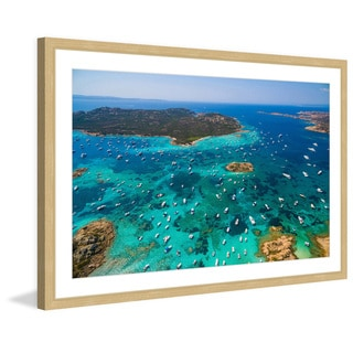 Marmont Hill - 'Among the Reef' by Francesco Cattuto Framed Painting Print
