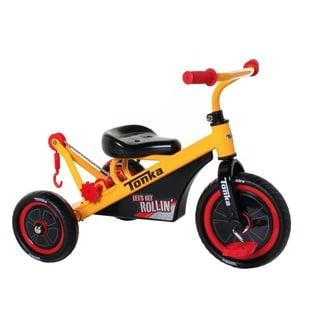 Tonka Black and Yellow Stainless Steel Tricycle