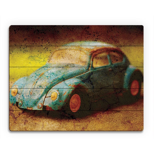 Shop Vintage Car Wood Wall Art - On Sale - Free Shipping Today ...