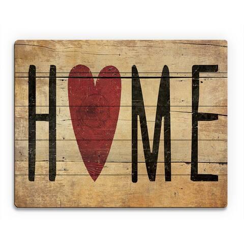 Heart Home' Wood Wall Art