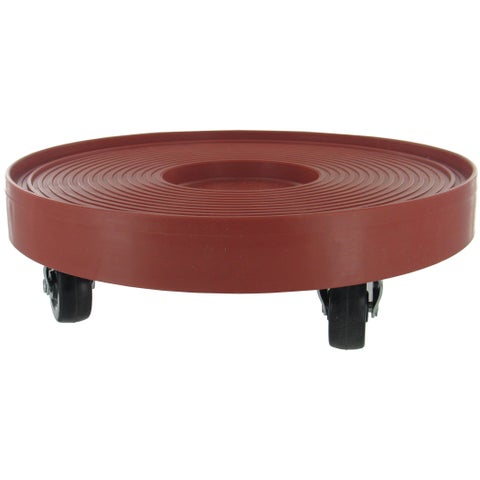 "DeVault Enterprises DEV3012 12"" Terra Cotta Plant Dolly"