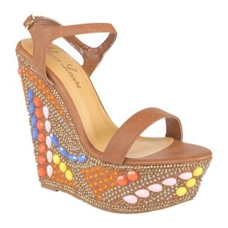 Lauren Lorraine Paris Multicolored Stone Wedges