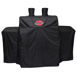 "Char-Griller 3055 54"" X 25"" X 50"" Black Vinyl Grillin Pro Gas Grill Cover"