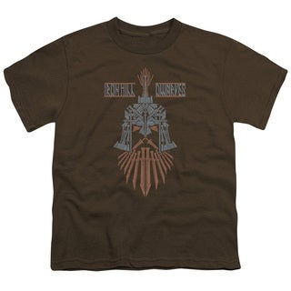 Hobbit/Ironhill Dwarves Short Sleeve Youth 18/1 in Coffee