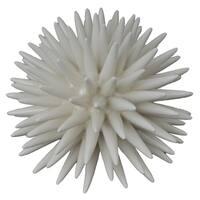 White Resin Coral Figurine