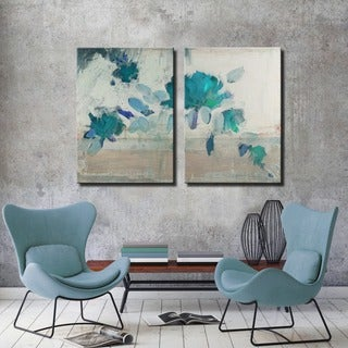 Ready2HangArt 'Painted Petals IVB' 2-PC Canvas Art Set