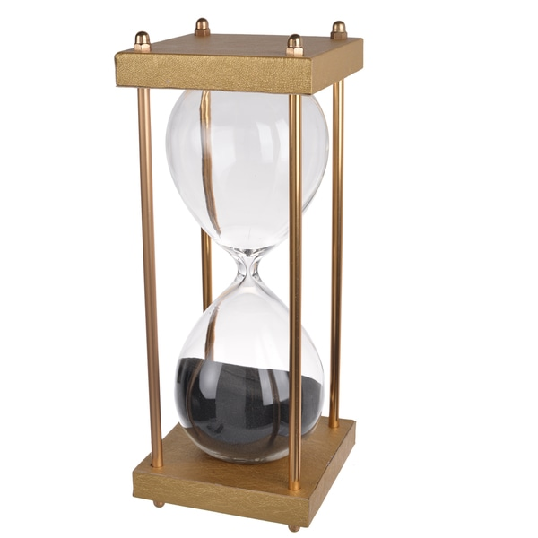 Papin Natural 4-inch-diameter x 10-inch-high 30-minute Hourglass