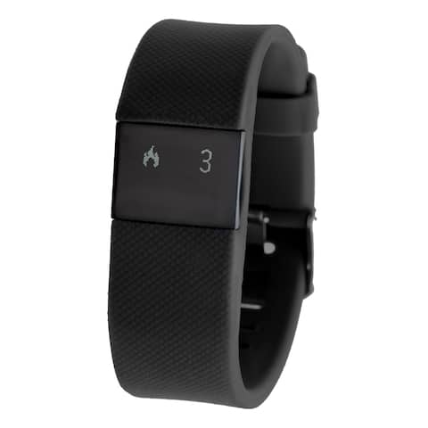 Everlast TR8 Black Bluetooth Activity Tracker w/ Heart Rate Monitor