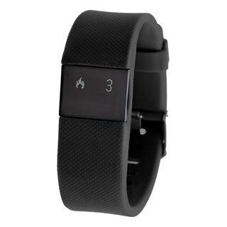 Everlast TR8 Black Bluetooth Activity Tracker w/ Heart Rate Monitor