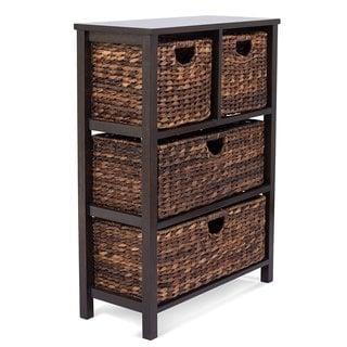 Birrock Home Seagrass Basket Dresser