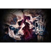 Daveed Benito 'Till Death' Fine Art Giclee Print - Multi