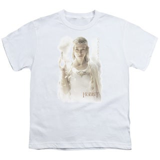 Hobbit/Galadriel Short Sleeve Youth 18/1 in White