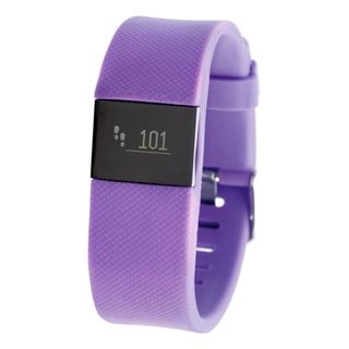Everlast TR8 Purple Bluetooth Activity Tracker w/ Heart Rate Monitor