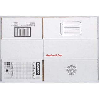 "3M 8007 17.25"" x 11.25"" x 6"" Scotch Mailing Box"