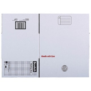 "3M 8008 16"" x 12"" x 8"" Scotch® Mailing Box"