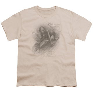 The Hobbit/Riddles Short Sleeve Youth 18/1 in Cream