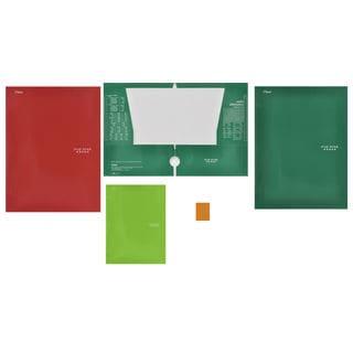 Five Star 33106 4 Pocket Paper Folder Assorted Colors