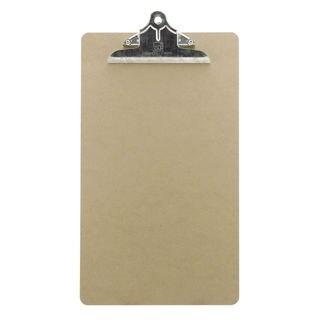 "Charles Leonard Inc. 89004 9"" X 15-1/2"" Memo Clip Board"