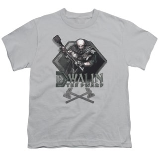 The Hobbit/Dwalin Short Sleeve Youth 18/1 Silver