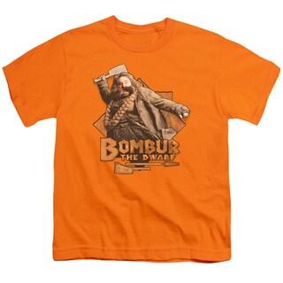 The Hobbit/Bombur Short Sleeve Youth 18/1 in Orange