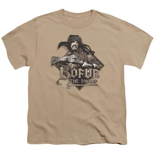 The Hobbit/Bofur Short Sleeve Youth 18/1 in Sand