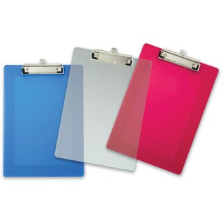 "Officemate International 83007 9"" X 12-1/2"" Assorted Plastic Clipboard"