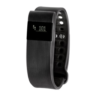 RBX Active TR3 Black Bluetooth Fitness Activity Tracker w/ Heart Rate Monitor