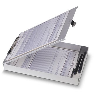 "Officemate International 83200 8.5"" X 12"" Aluminum Forms Clipboard"