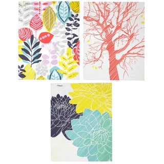 MeadWestvaco 33076 Botanical ECO Paper Folder With Pockets