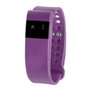 RBX Active TR3 Purple Bluetooth Fitness Activity Tracker w/ Heart Rate Monitor