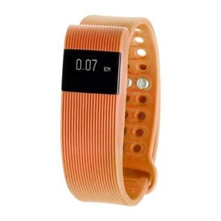 RBX Active TR3 Orange Bluetooth Fitness Activity Tracker w/ Heart Rate Monitor