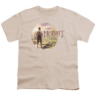 The Hobbit/Hobbit in Circle Short Sleeve Youth 18/1 Cream
