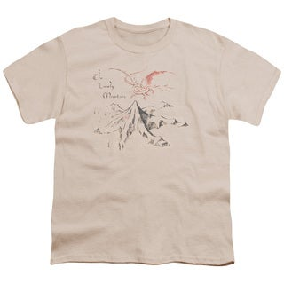 The Hobbit/Lonely Mountain Short Sleeve Youth 18/1 Cream