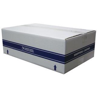"Lepages 81546 17.25"" X 11.25"" White USPS Shipping Carton"