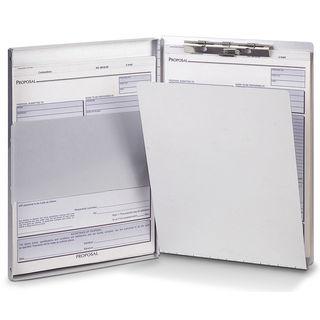 "Officemate International 83203 8.5"" X 12"" Side-Loading Aluminum Forms Holder"