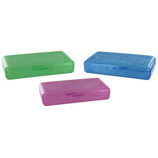 Soho S-6 SpaceSaver Pencil Case Assorted Colors