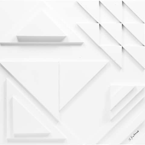 Strick & Bolton 'Diagram II' Unframed Wall Decor