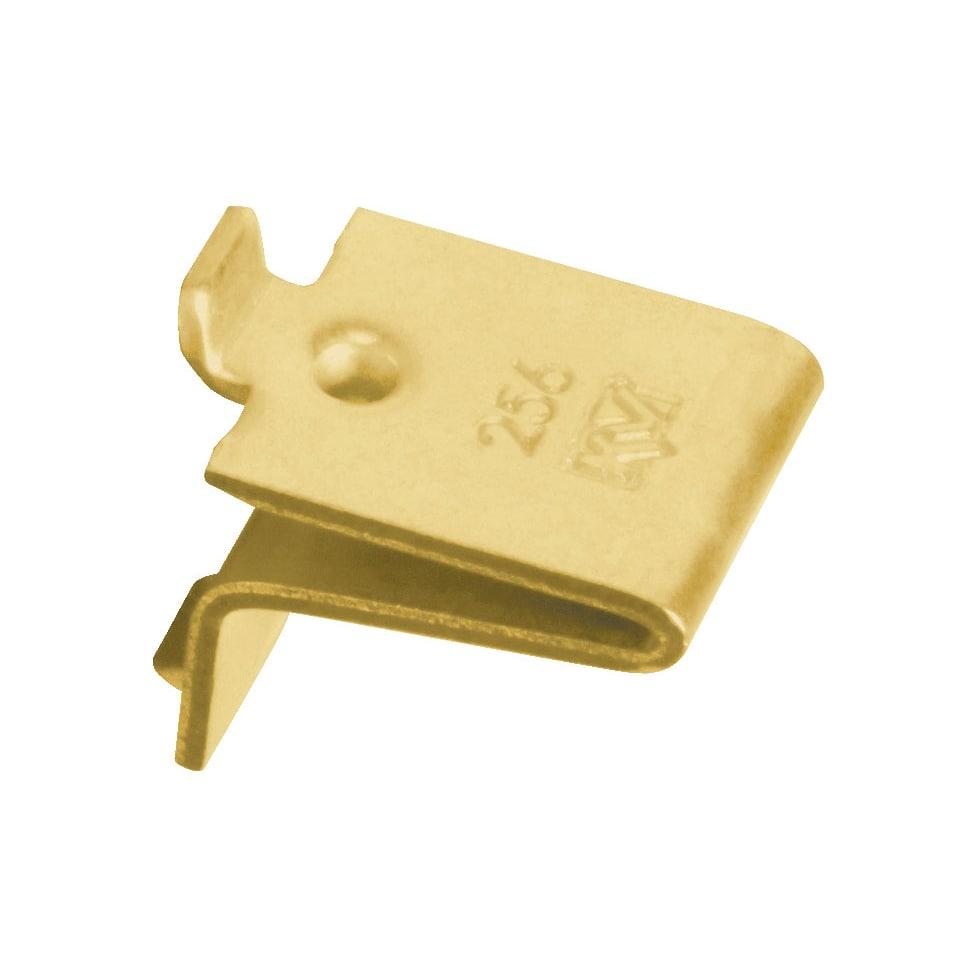 "Knape & Vogt 256P-BR 3/4"" X 5/8"" Brass Shelf Supports 12-..."